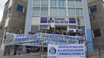 Trabajadores de Camuzzi realizarán paro total