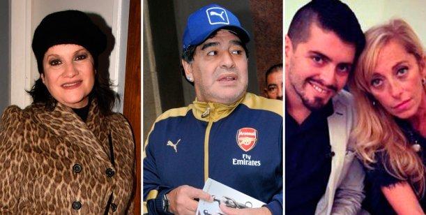 Maradona supo que Diego Jr. era su hijo desde que Sinagra quedó embarazada