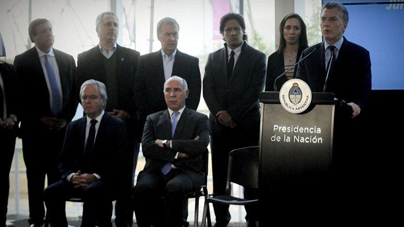 Macri presentó el plan Argentina sin narcotráfico.