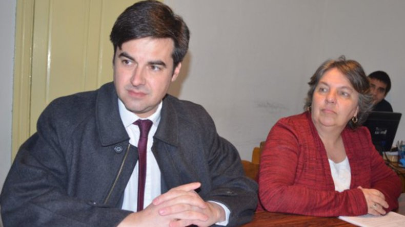 Christian Pasquini y Valeria Saunders