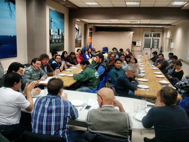 El lunes por la noche la CGT Saúl Ubaldini realizó un plenario en el Sindicato de Petroleros Jerárquicos