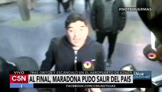 Maradona: Quiero decirle a Macri, que haga lo que me haga, voy a ser cristinista hasta los huevos