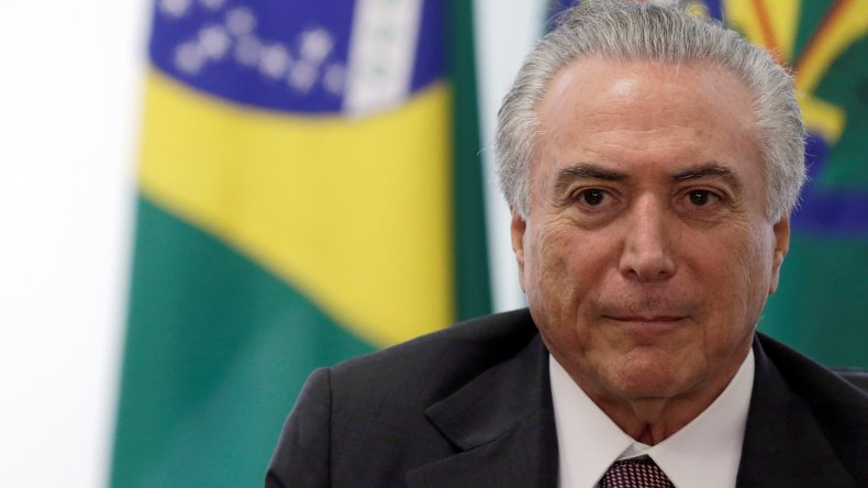 Tras la destitución de Rousseff, asumió Temer