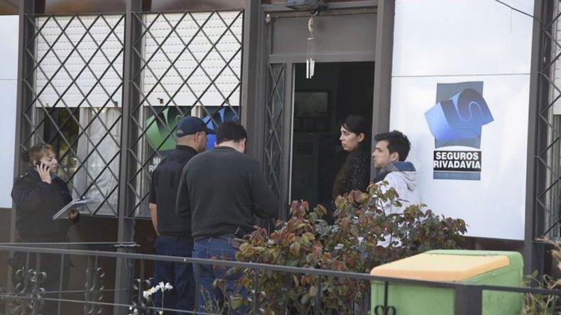 Detuvieron a un hombre sospechoso de participar en el robo de la aseguradora