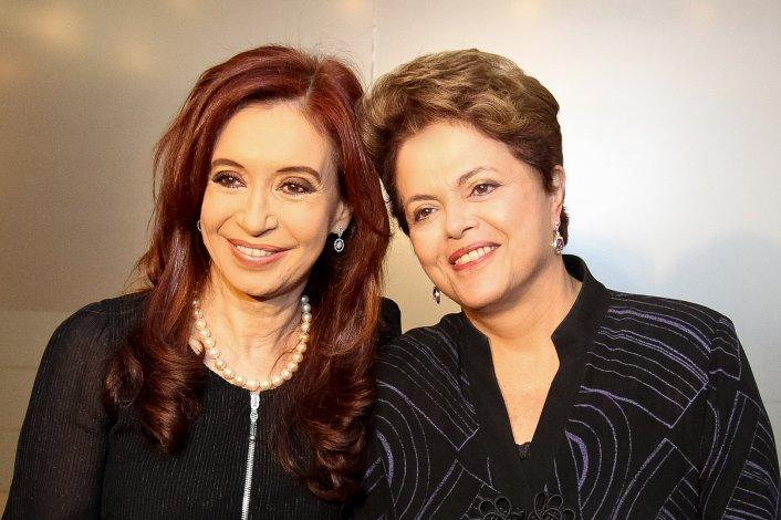 Cristina habló sobre el golpe a Dilma