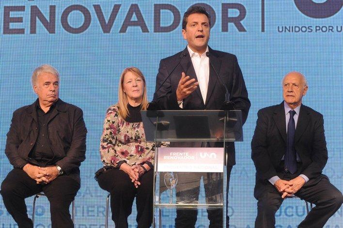 Sergio Massa encabezó la Convención Nacional de la UNA.
