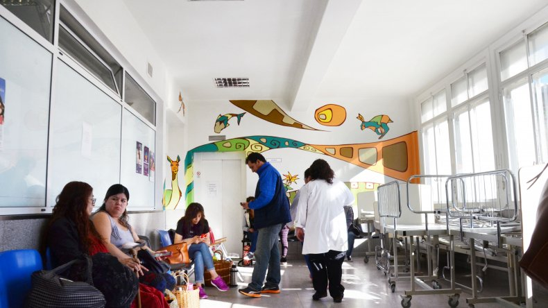 El servicio de Pediatría del Hospital Regional incorporará una profesional más en octubre. Foto: archivo.