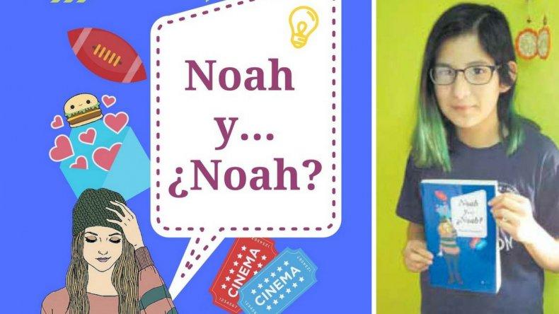 Muriel Navarro tiene 12 años y presentará su primer libro