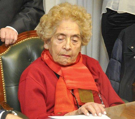 La presidenta del Tribunal Superior de Justicia