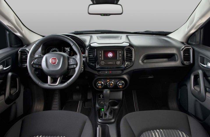 La Fiat Toro, también  con motor naftero 2.4