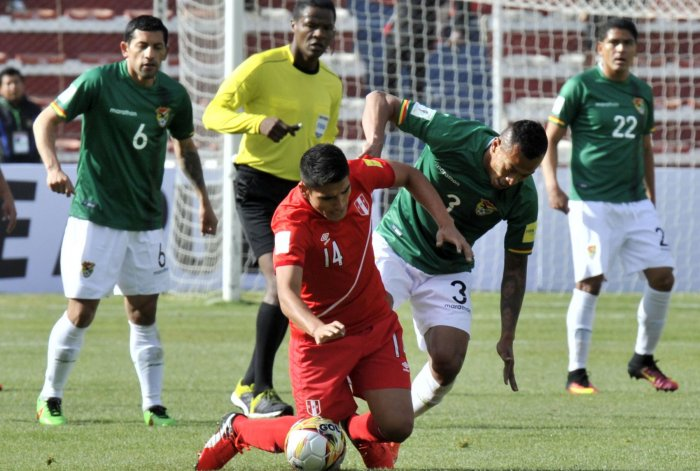 Bolivia logró su segundo éxito al vencer a Perú 2-0