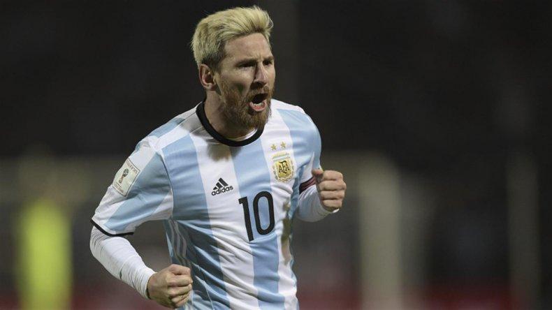 Messi: estando acá me siento muy feliz