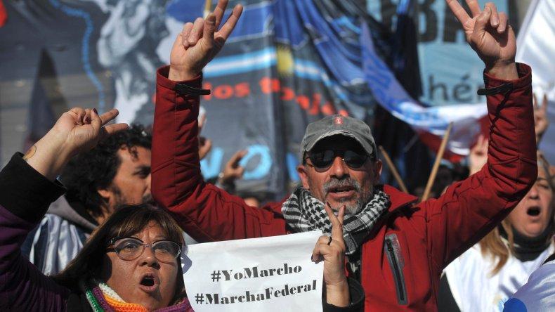 Marcha Federal contra el ajuste