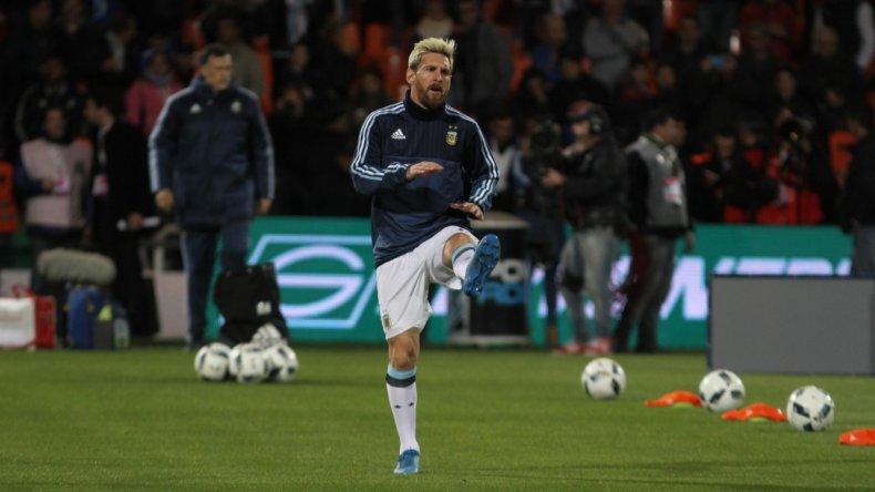 Messi no jugará contra Venezuela