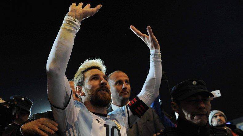 Lionel Messi se perderá el partido del martes como visitante frente a Venezuela.