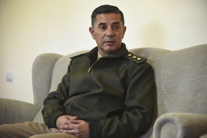 El coronel Silvio Soria