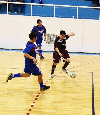 El fútbol de salón mayor tendrá actividad hoy únicamente en el gimnasio del complejo Huergo.
