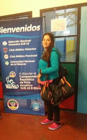 Ornella Prieto deberá volver a fines de setiembre a una nueva convocatoria con la preselección Sub 16 argentina.