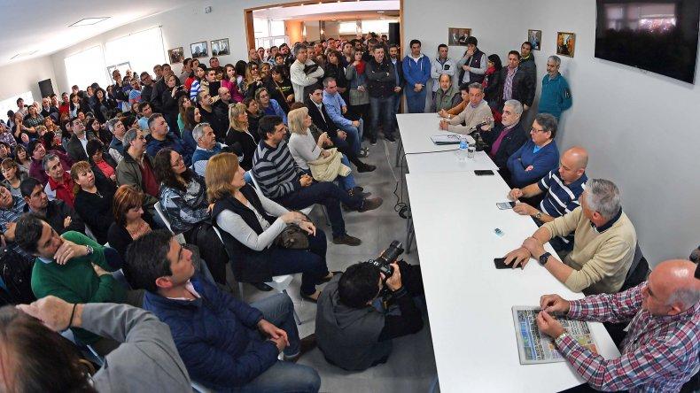 Das Neves presidió plenario de Chubut Somos Todos.