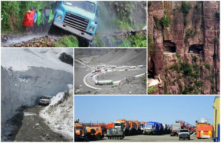 Top 5: Las rutas  mas peligrosas del mundo