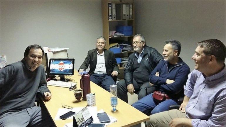 Legisladores de Cambiemos mantuvieron reuniones en Rada Tilly y Sarmiento.