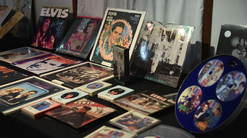 Exposición de Elvis Presley. Foto: Mauricio Macretti / El Patagónico.