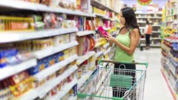 los argentinos ya van todos los dias al super y compran solo lo necesario