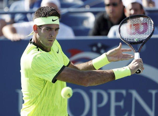 Juan Martín del Potro irá esta tarde en busca de los cuartos de final del último Grand Slam de la temporada.