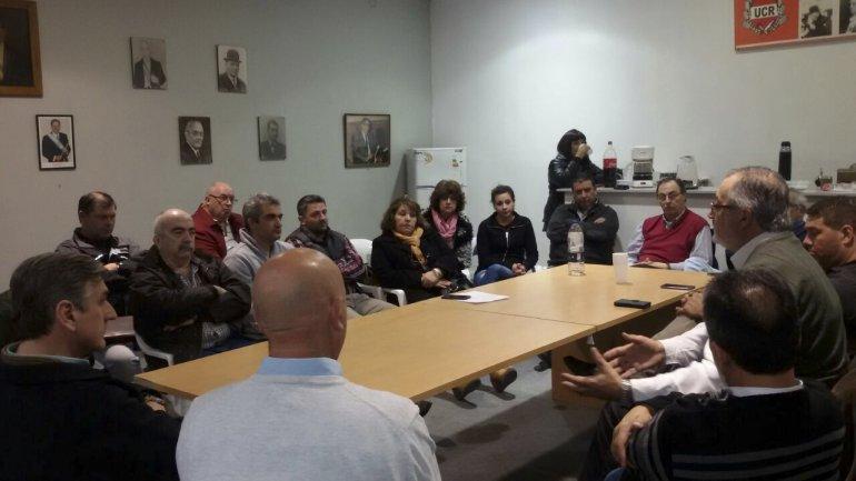 Los diputados Eduardo Conde y Manuel Pagliaroni se comprometieron en citar a la Legislatura al titular del IPA
