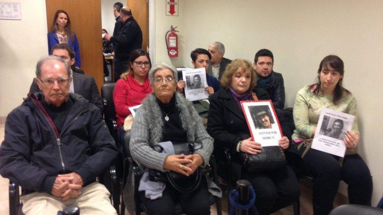 Comienza el juicio oral y público por el crimen de Domingo Expósito Moreno. Foto:@ornellavezzoso