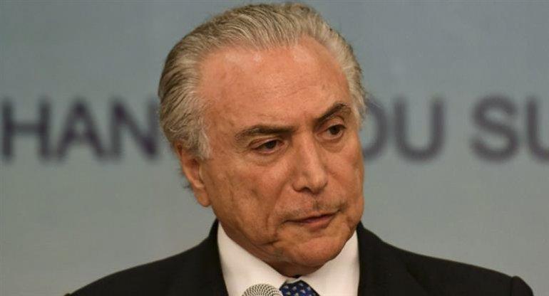 El flamante presidente de Brasil se enfrenta a graves acusaciones.