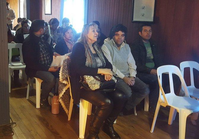 La comisionado de fomento de Jaramillo participó junto a los vecinos de las jornadas de capacitación de Conciencia Turística
