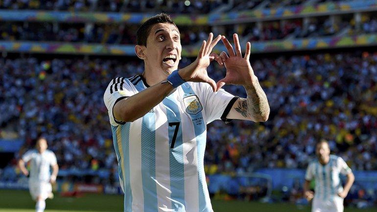 Angel Di María será esta noche uno de los titulares en el partido que Argentina visitará a Venezuela.