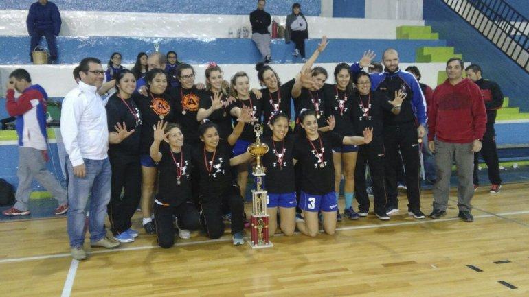 Nueva Generación es por cuarta vez campeón provincial de balonmano