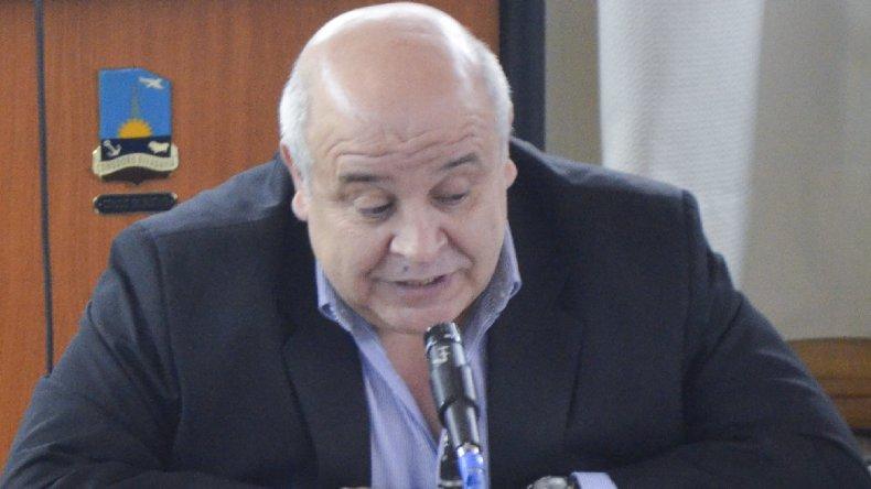 El concejal Gaitán detalló las obras a realizar.