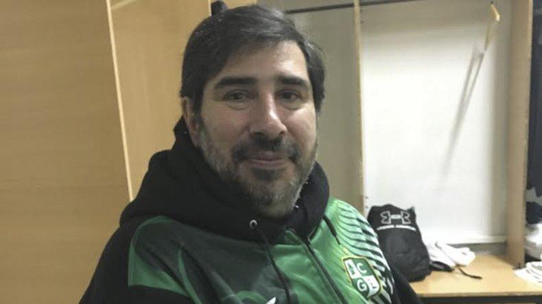 Gonzalo García volvió contento de la gira que realizó Gimnasia por Esquel.