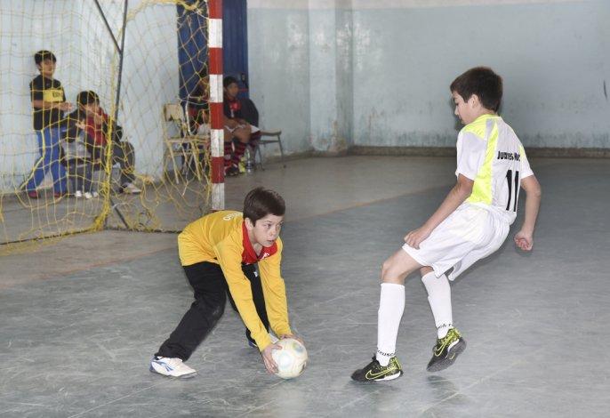 El futsal de la Asociación Promocional tuvo acción solamente en el gimnasio de la ex ENET 1.