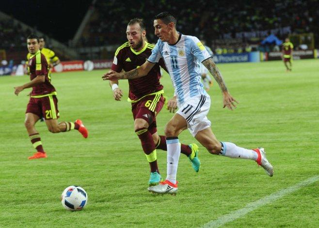 Venezuela y Argentina empataron por las eliminatorias