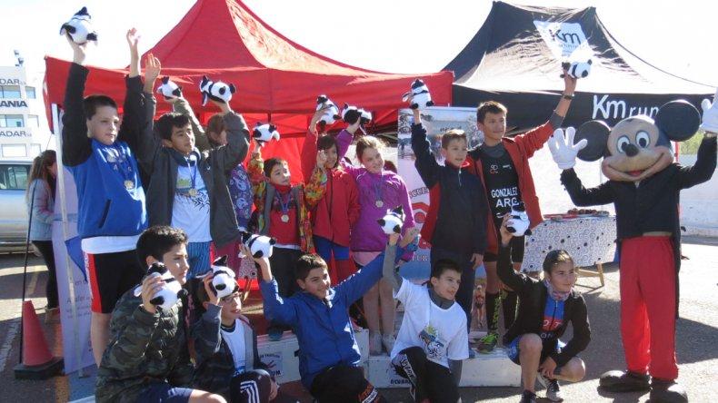 En el autódromo local se llevó a cabo el Campeonato Argentino de Duatlón Infanto Juvenil.
