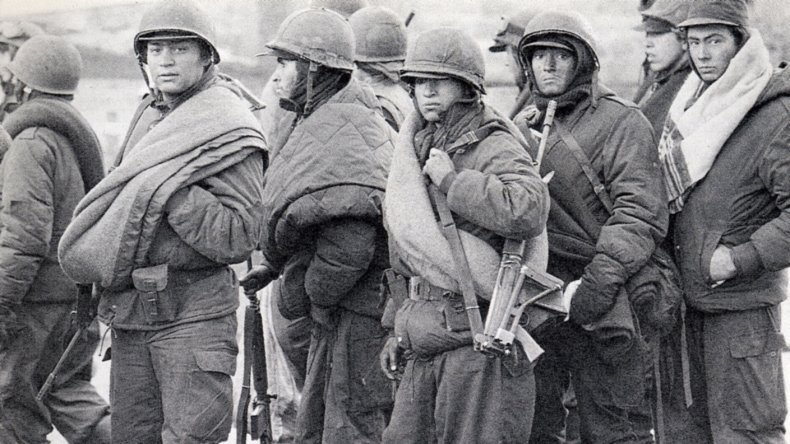 Los soldados no reconocidos de Chubut se reúnen en Comodoro