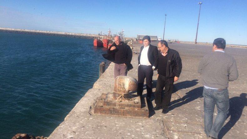 Avanzan las obras en el puerto y en Valle C