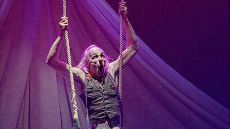 Elo Vázquez será uno de los animadores de la varieté de circo que se realizará hoy en el Centro Cultural y Social Collage.