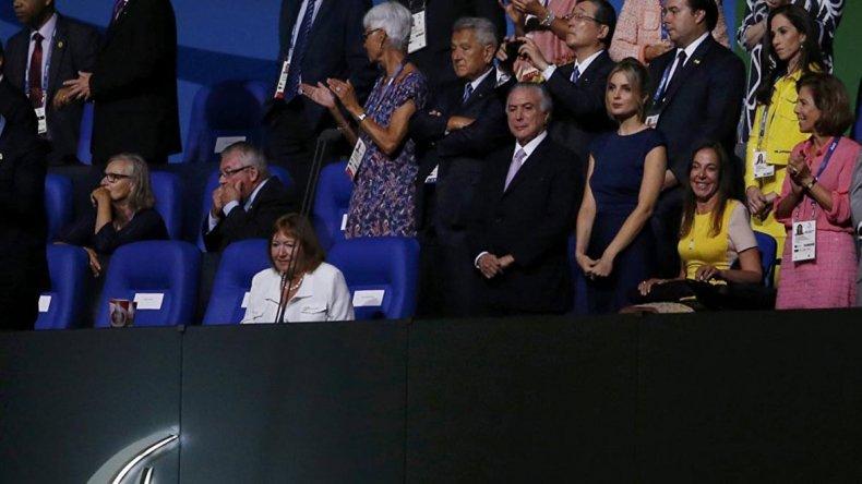 Michel Temer fue abucheado al inaugurar los Juegos Paralímpicos de Río 2016.