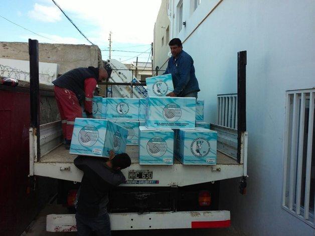 La distribución de las canastas del programa Compremos Juntos comenzó en mayo.