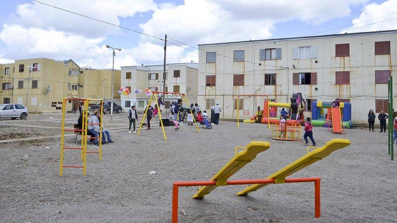 El plan de inversiones municipal también contempla el mejoramiento de espacios públicos.