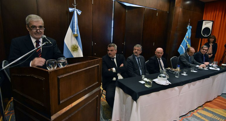 El gobernador inauguró ayer en Puerto Madryn la reunión del Consejo Federal de Política Criminal