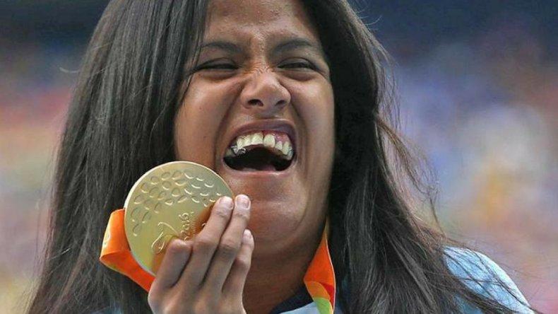 Yanina Martínez, medalla de oro en los Juegos Paralímpicos en Rio 2016