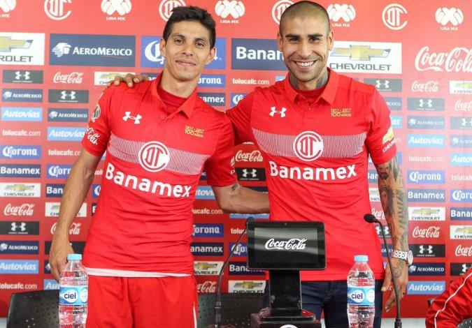 Barrientos y Méndez fueron presentados oficialmente en el Toluca
