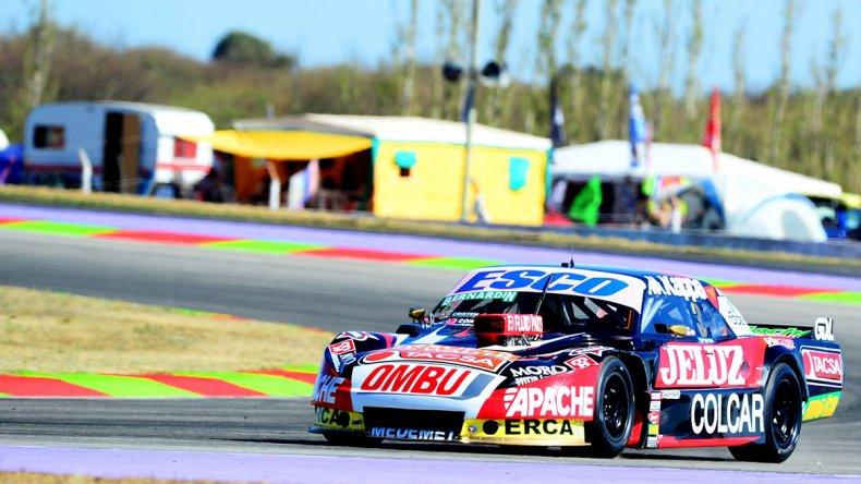 El Dodge de Facundo Ardusso que ayer fue el más veloz en el autódromo de San Luis.