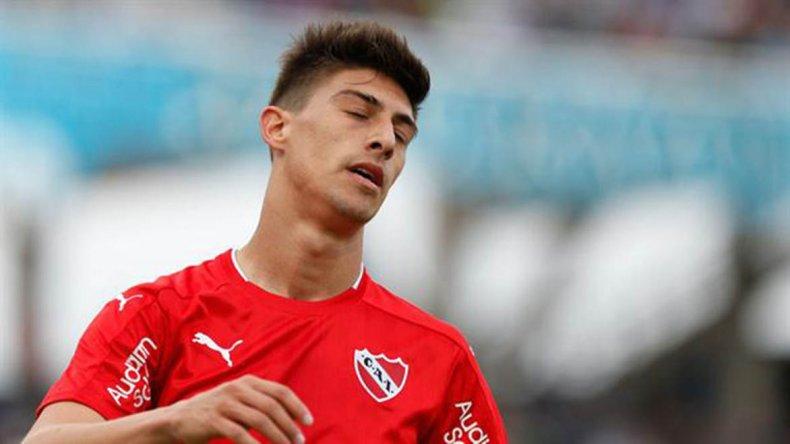 Emiliano Rigoni será esta noche uno de los delanteros de Independiente que recibirá a Belgrano.